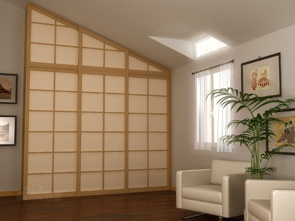 Puertas y paredes corredizas de estilo japon s idfdesign - Puertas shoji ...