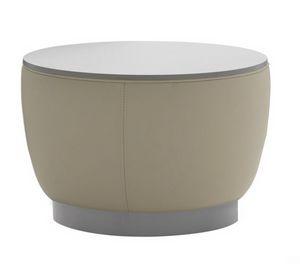 Diadema 04012, Pouf mesa de centro con tapa de madera