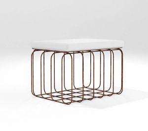 Scrigno, Puf rectangular para uso exterior