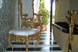 Finlandia S, Puf clásica de lujo para el hogar, de estilo barroco