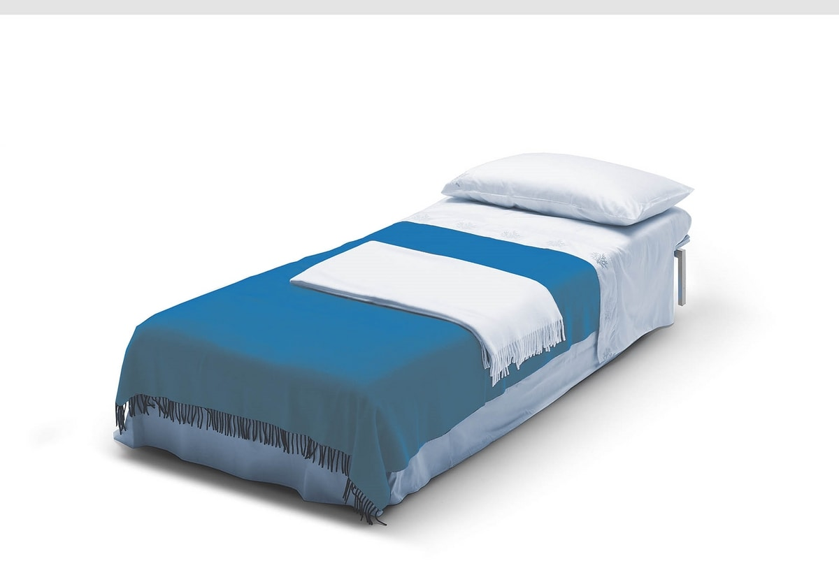 Chick, Puf convertible en cama