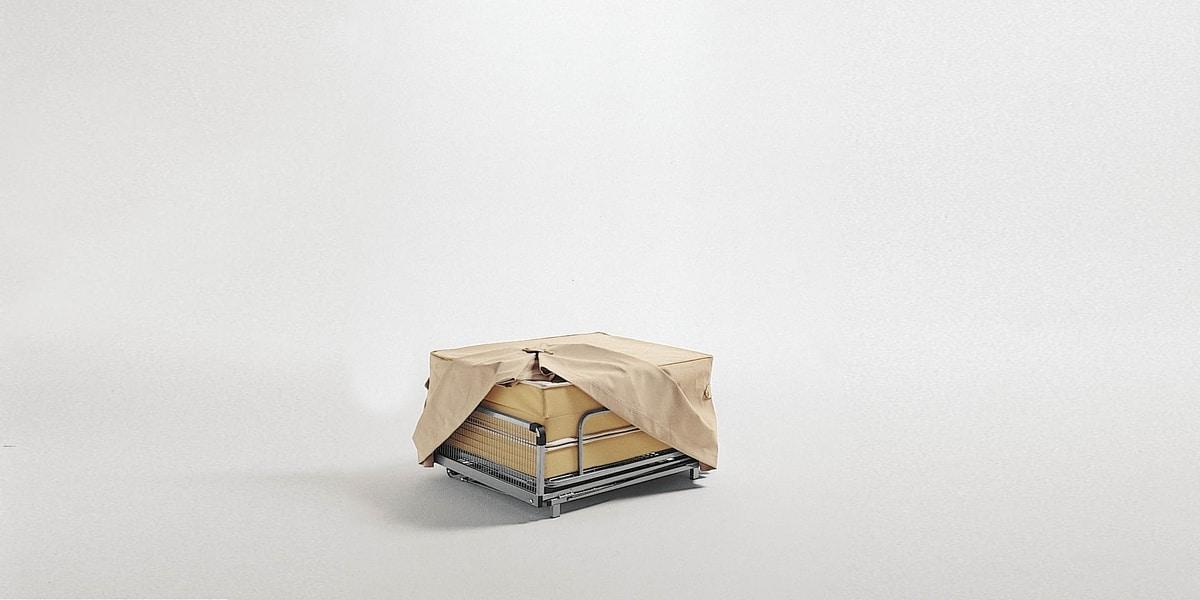 Dizzy pouf, Puf convertible en cama