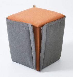 Finferlo, Puf tapizado con funda extraíble