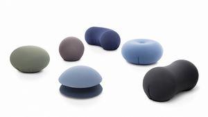 Tato Collection, Colección de pufs de diversas formas y colores.