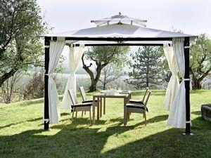 Hawaii, Cenador de hierro, forgarden, con curtanis, se puede fijar al suelo