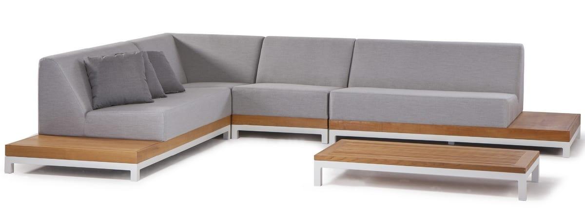 CALIFORNIA SET, Conjunto de jardín con sofá modular