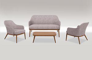 FORTE DEI MARMI SET, Jardín con sofá y sillón