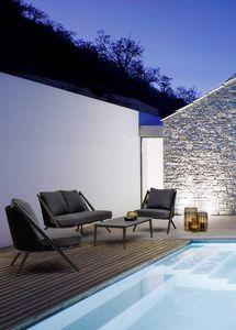 Santa Cruz lounge, Conjunto de salón de patio