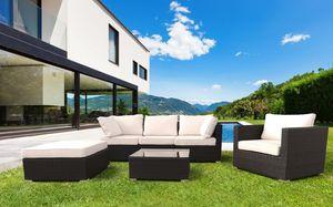 Bar tejido jardín de ratán conjunto de muebles Santa Monica – SM935RAT, Muebles de jardín conjunto , sofá y sillones para jardines