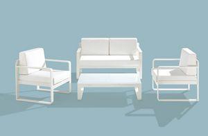 Star Set, Set muebles al aire libre, marco de aluminio, varios colores