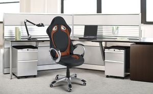 Sillón silla de oficina de carreras Race – SU130RAC, Sillón de oficina de carreras estilo deportivo