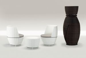 Totem Set, Muebles de jardín, para los restaurantes al aire libre