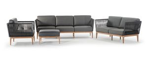Yucatan, Conjunto exterior con sofá y sillón.