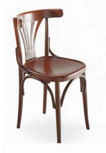 Strauss, Silla en madera curvada, estilo vienés