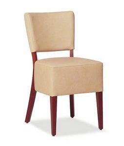 325, Silla con asiento tapizado grande