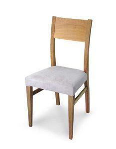 Art. 179/M, Silla moderna con asiento acolchado