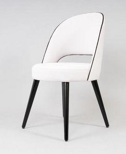 BS523A - Silla, Silla tapizada con asiento redondo