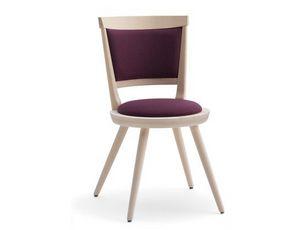 Isolda-S2, Silla tapizada con asiento redondo