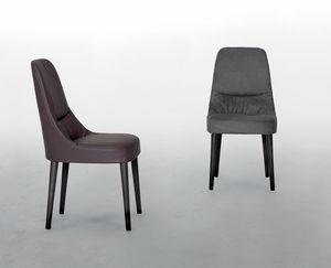 JULIETTE, Silla de cuero, con asiento suave y cómodo.
