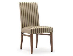 Milena-S, Cómoda silla tapizada para restaurante
