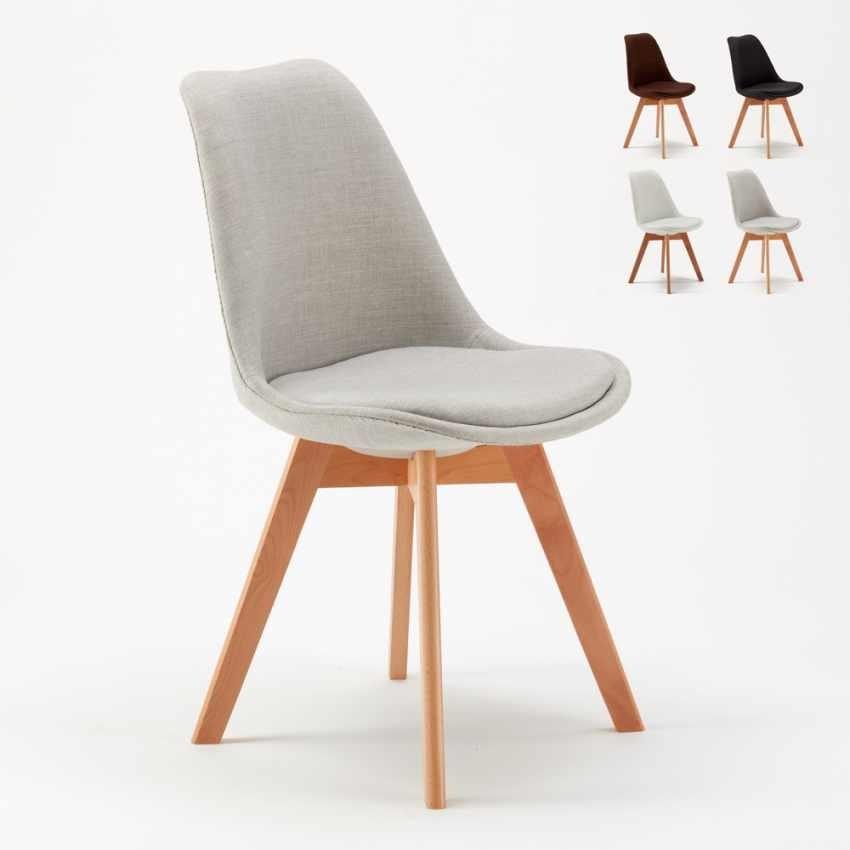 Silla tapizada de estilo escandinavo | IDFdesign