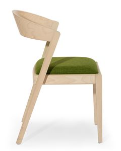 Zanna, Silla de madera con respaldo redondeado
