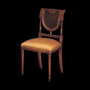 123S, Cabecera de estilo clásico de las sillas de mesa
