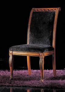 239ST, Sillas tapizadas de madera
