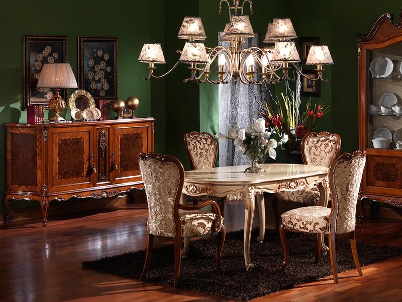 Silla clásica cabeza de la tabla, para los comedores de lujo | IDFdesign