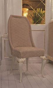 Art. 101, Silla de estilo cl�sico, cubierto de cuero de gamuza