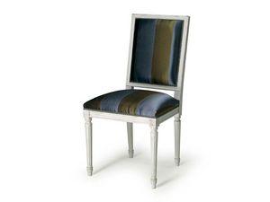 Art.102 chair, Silla con el acolchado para los comedores, estilo Luis XVI