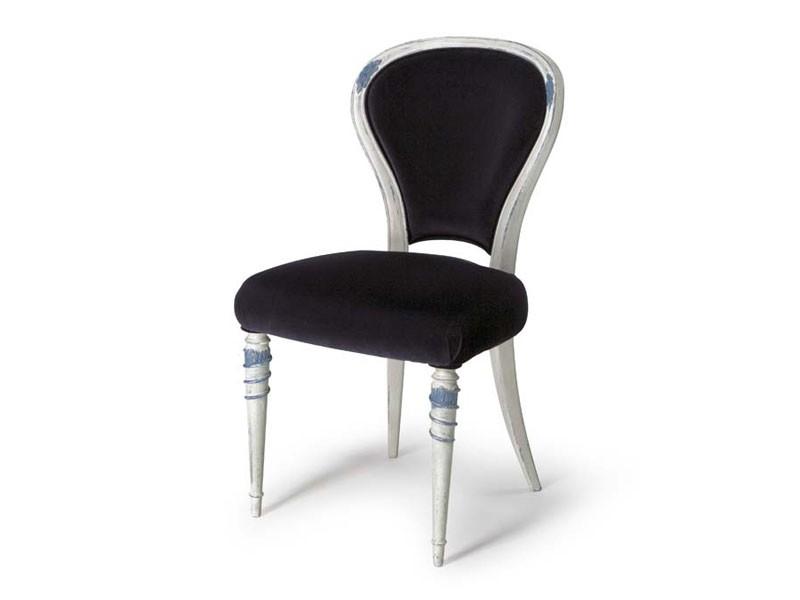 Art.188 chair, Silla de comedor con respaldo acolchado