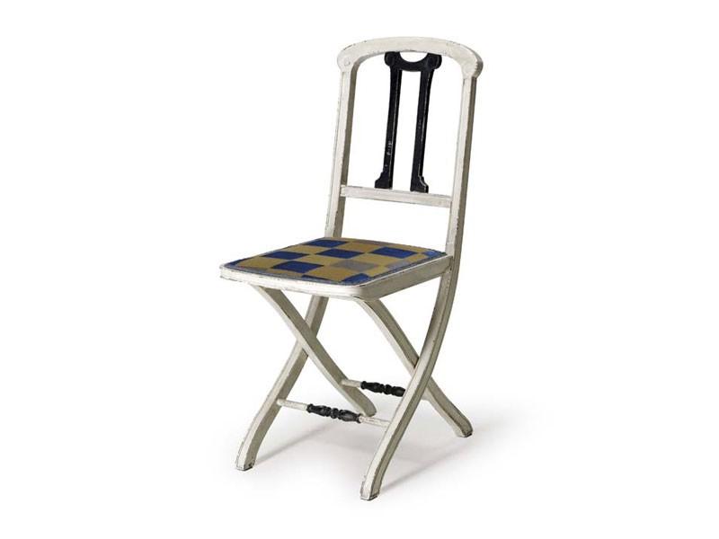 Art.192 chair, Silla plegable de madera, de estilo clásico