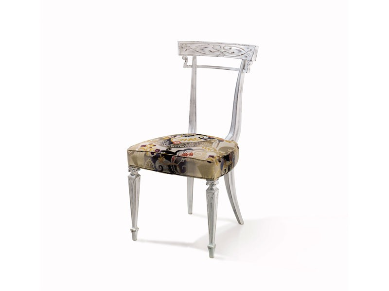 Art.244 chair, Silla de madera de haya adaptable, estilo clásico de lujo