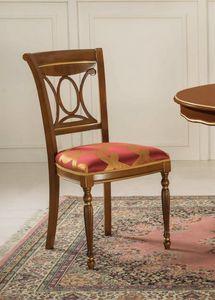 Art. 3506, Silla de comedor con asiento acolchado.