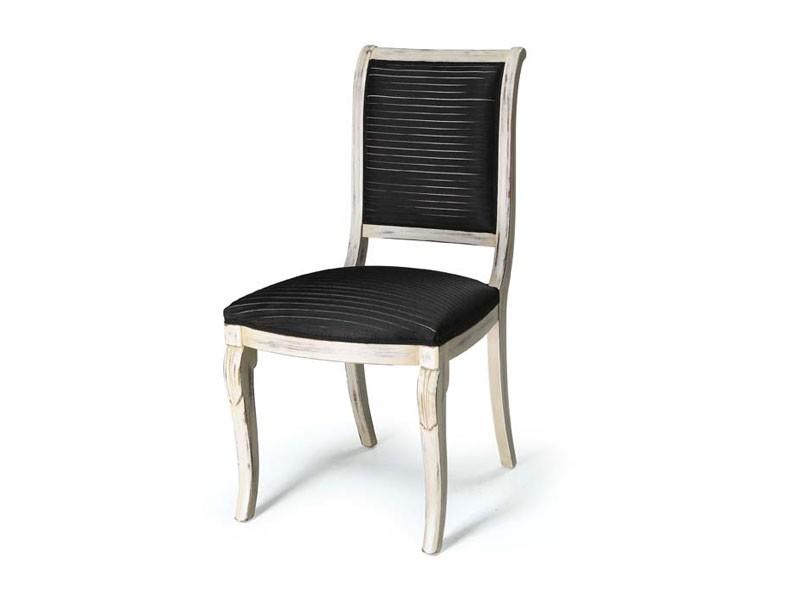 Art.466 chair, Silla para los comedores sin brazos, de estilo clásico
