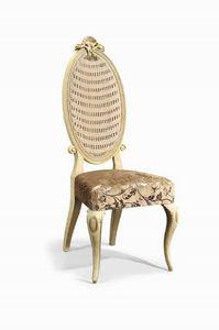 Art. 502s, Silla clásica de madera tallada y paja de Viena