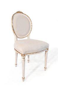 Art. 514, Silla clásica de lujo, estilo Luis XVI, para la sala de livinng