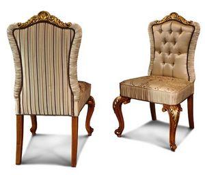 Art. 633, Elegante silla con patas talladas