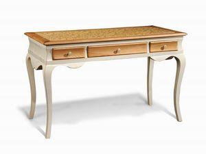 Art. 713, Escritorio de madera, con las piernas sinuosas, para la oficina