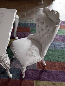Carpi silla, Silla de estilo clásico con relleno de capitonné