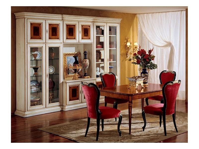 Display chair 850, Silla de estilo clásico para el comedor