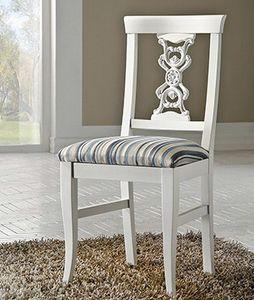 Exclusive silla, Silla lacada, en estilo clásico