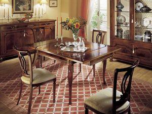 GRANDUCATO / Chair, Silla clásica en madera para los comedores