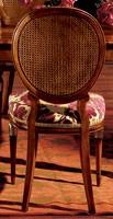 Hepplewhite chair 760, Silla de comedor con asiento acolchado
