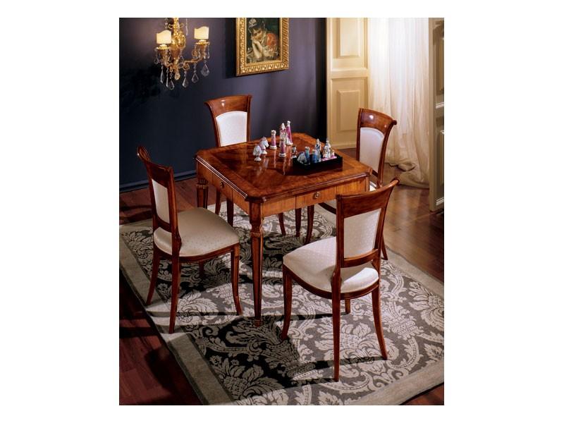 Maggiolini chairs 538, Silla de comedor de estilo clásico