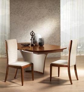 SE52 Galileo silla, Silla de ceniza manchada, en estilo clásico contemporáneo