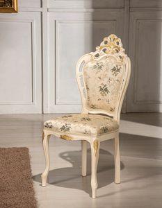 Traforata Plus silla, Silla de comedor tallada