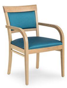 Anna XL ARMS, Cómoda silla acolchada con reposabrazos