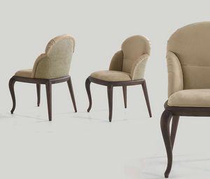 Sally silla, Silla de comedor tapizada en cuero